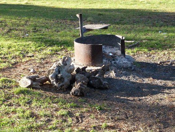 campfire arapiles