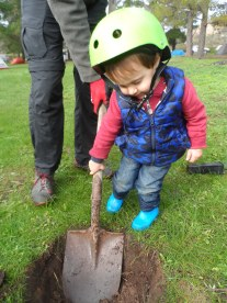 Youngest volunteer Max