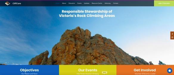 cliffcare website screenshot